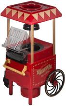 Popcorn maskine bordmodel - Rigtig retro med hjul - Højde 39cm