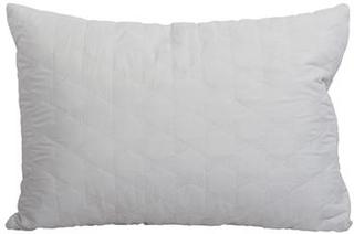 Gavlpude - Råhvid - 90x60cm - Gavlpuder til sengen
