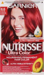 Garnier Nutrisse Ultra Color Intense Red, Ultra Color Intense Red Garnier Hårfarge