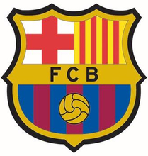 Wall sticker - FC Barcelona - 3D effekt
