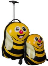 Børne trolley på hjul og rygsæk - Humlebi - Sæt til børn