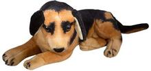 Hunde bamse - 32 cm lang - liggende schæferhund