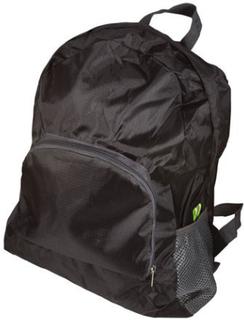 Foldbar rygsæk - Vandafvisende - Sort - 15 liter