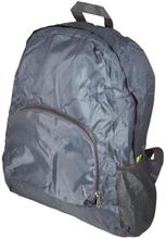 Foldbar rygsæk - Vandafvisende - Grå - 15 liter
