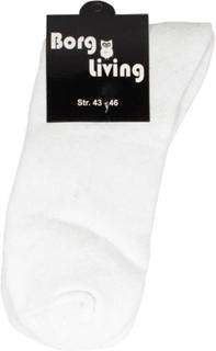 Tennis strømper - Pakke med 12 par - Hvid - str. 43-46