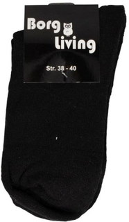 Tennis strømper - Pakke med 12 par - Sort - str. 38-40