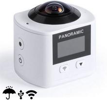 Kamera 360º Full HD LCD WIFI 145529 (Färg: Grå)