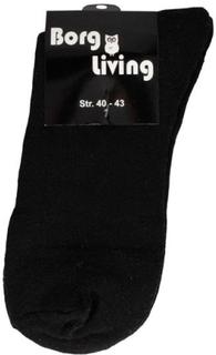 Tennis strømper - Pakke med 12 par - Sort - str. 40-43