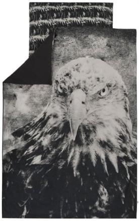 Økologisk baby sengetøj - 70x100 cm - Müsli Spicy eagle - Home-tex