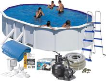 Swim & Fun Poolpaket Bas 500x300x120 Vit