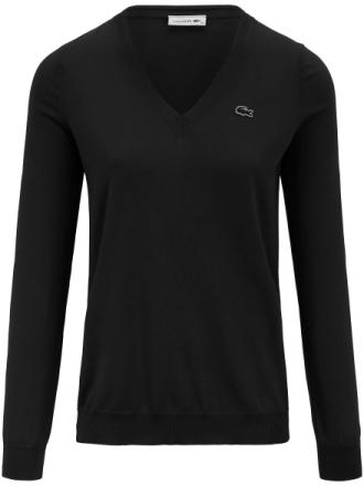 V-ringad tröja från Lacoste svart