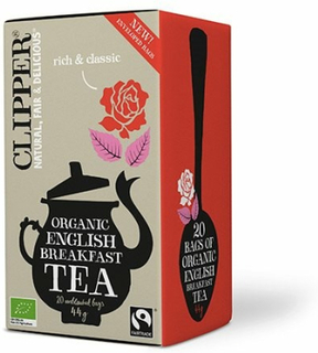Clipper Te English Breakfast Te Ø, 44g