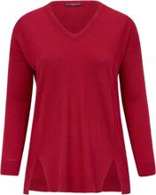 V-ringad tröja från Emilia Lay röd