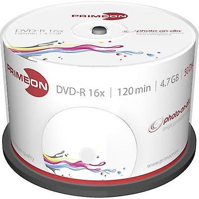Tom DVD-R 4,7 GB Primeon 2761206 50 computer(e) Spindl