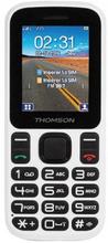 Mobiltelefon för seniorer Thomson TLINK T12 1,77'' Bluetooth VGA FM Vit