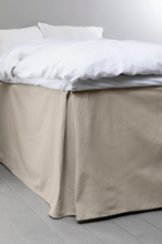 COLOUR sängkappa 60 cm - ekologisk Gråbeige