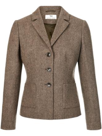 Blazer 100% ren ny uld Fra Peter Hahn multicolor