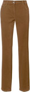 """""""Feminine Fit""""-sportsammetsbyxa modell CAROLA från Brax Feel Good brun"""