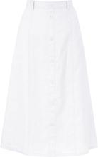 Kjol A-linjemodell från Peter Hahn vit