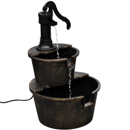 vidaXL fontæne brøndpumpedesign