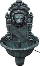 vidaXL Väggfontän lejonhuvud