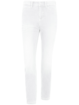 7/8-jeans i modell Dream Chic från Mac vit