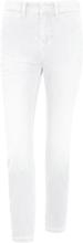 7/8-jeans i modell Dream Chic från Mac vit