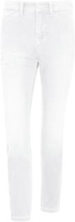 7/8-långa jeans i modell Dream Chic, längd 27 tum från Mac vit