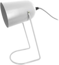 Grå Bordlampe