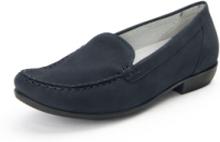 Loafers Hina i 100% skinn från Waldläufer blå