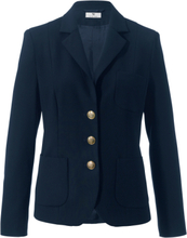 Kavaj ren ny ull från Peter Hahn blå