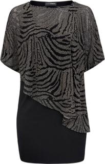 2 i 1-klänning från Doris Streich svart
