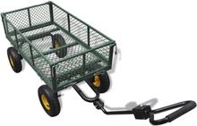 vidaXL Trädgårdsvagn klarar 350 kg