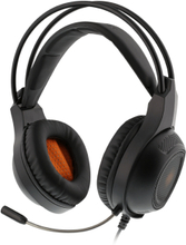Stereoheadset Med Orange LED
