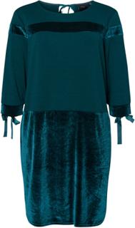 JUNAROSE Velour Dress Kvinna Grön