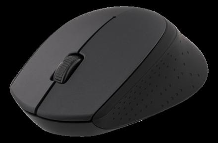 Deltaco Trådlös optisk mus 2,4GHz, 3 knappar med scroll,1200 DPI,sva