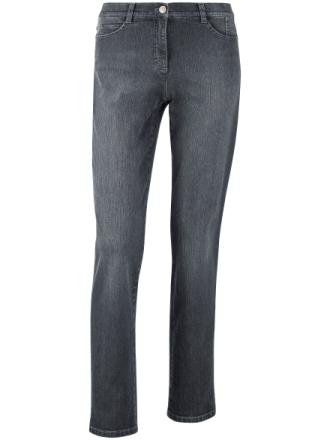 Jeans, modell NICOLA från Brax Feel Good grå