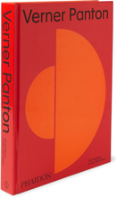 Verner Panton Hardcover Book - Red