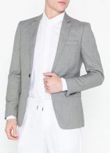 Topman Grey Marl Skinny Fit Suit Jacket Blazere & dresser Grey