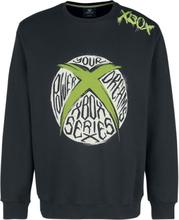 Xbox - Logo -Collegegenser - svart