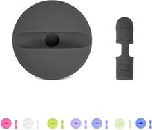 Apple pencil lade stasjon med beskyttelses hette i silikon - Svart