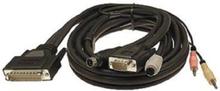 PS / 2 KVM-kabel (1,8 m)