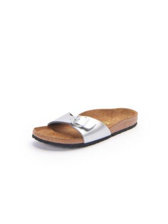 Sandaler, modell Madrid från Birkenstock silver