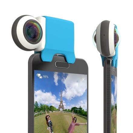 Giroptic iO mikro USB - HD 360 graders kamera til Android Smartphones