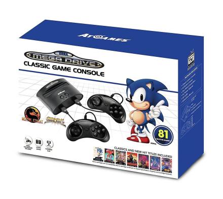 Sega Mega Drive klassiske spillet Retro-konsoll 81 innebygde spill