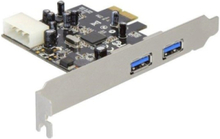 PCI Express card > 2x USB 3.0 - USB-adap