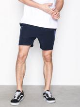 Topman Navy With Satin Side Stripe Shorts Shortsit Navy Blue