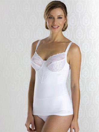 Formende BH-undertrøje bøjler Fra Miss Mary of Sweden hvid
