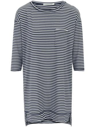 Sleep-shirt 3/4-lange ærmer Fra Mey multicolor - Peter Hahn