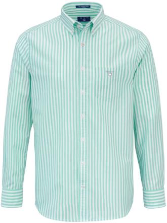 Skjorta button down-krage från GANT grön